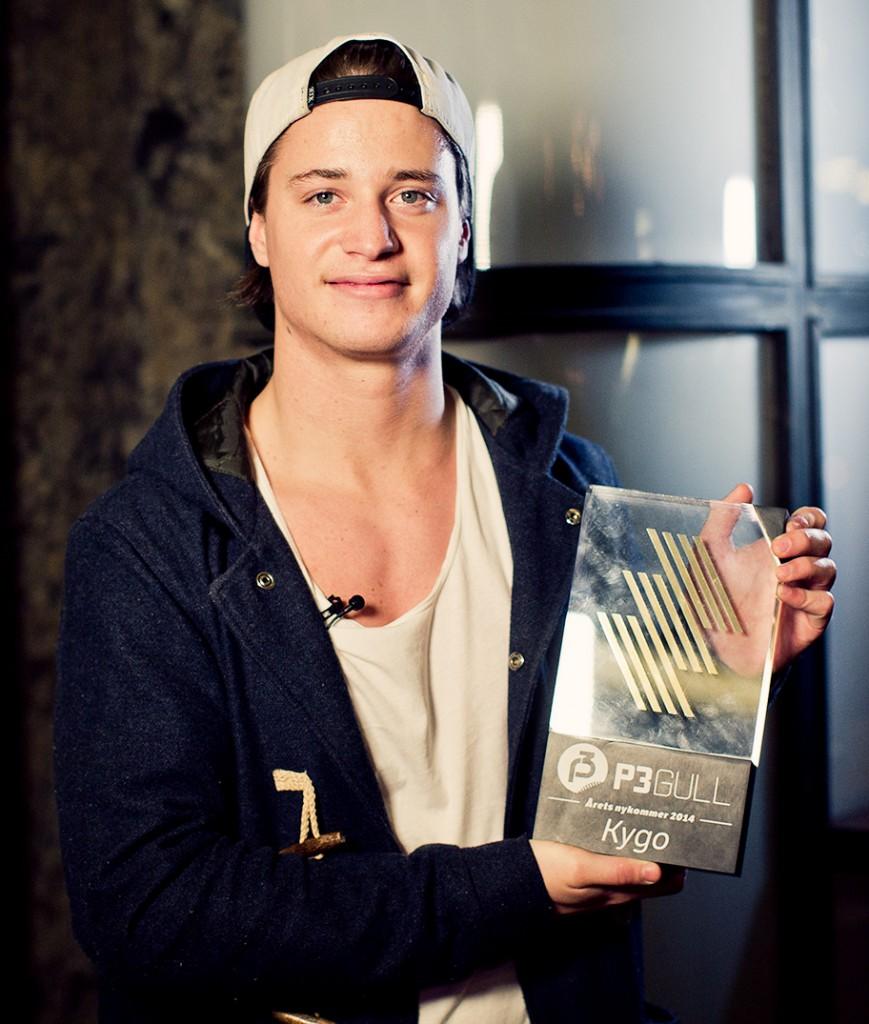 Kygo vant årets nykommer under P3 Gull i 2014. Foto: Tom Øverlie, NRK P3