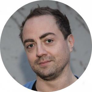 Seriens musikkprodusent, Jørgen Hegstad. Foto: Erlend Lånke Solbu, NRK P3