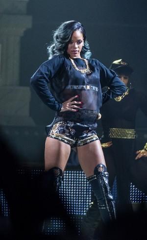Rihanna har ikke sluppet album siden 2012, men besøkte Norge i 2013. (Foto: Kim Erlandsen, NRK P3)
