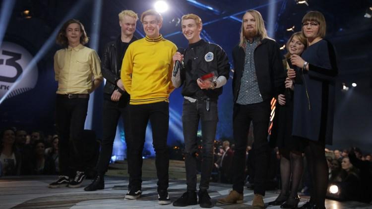 Honningbarna, P3 Gull 2015. Foto: Tom Øverlie, NRK P3