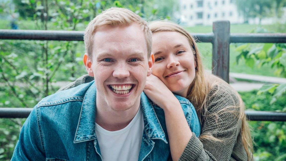 Martin Holmen og Vida Lill Berge tar med VG-lista på turné i sommer. Foto : Rashid Akrim