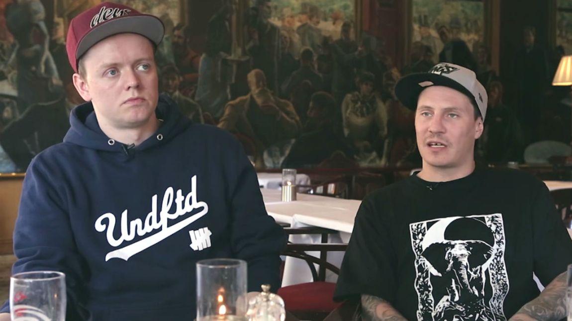 Jaa9 og OnklP. Ringrever nå. Skjermdump, NRK P3