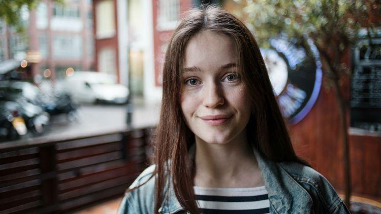 Sigrid. Foto: Li-Lian Ahlskog, NRK P3