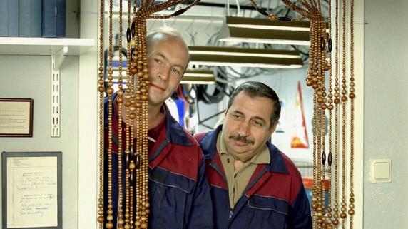 "Torkel Petersson og Jan Fares i ""Fatter'n"" (Foto/Copyright: Memfis Film/Sandrew Metronome Foto: Peter Widing)."
