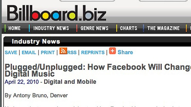 Facebooks Open Graph?