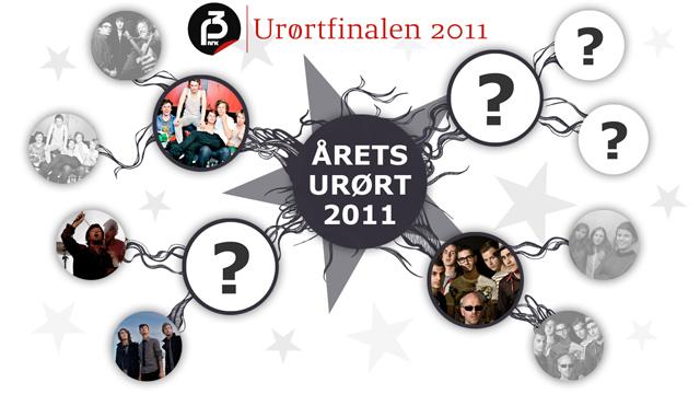 Urørtfinalen 2011. (Illstrasjon: Martin Aas, P3)