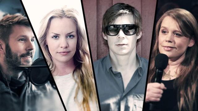 Urørt-juryen. (Foto: Tom Øverlie, NRK P3, Anton Soggiu)