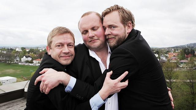 Radioresepsjonen er endelig samlet igjen. (Foto: Kim Erlandsen, NRK P3)