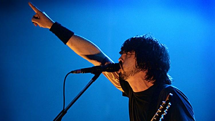 Foo Fighters. (Foto: Kim Erlandsen, NRK P3)
