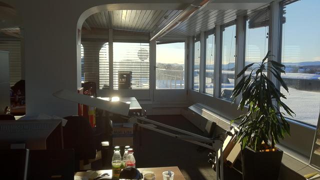 RDs heite kontor. (Foto: P3)