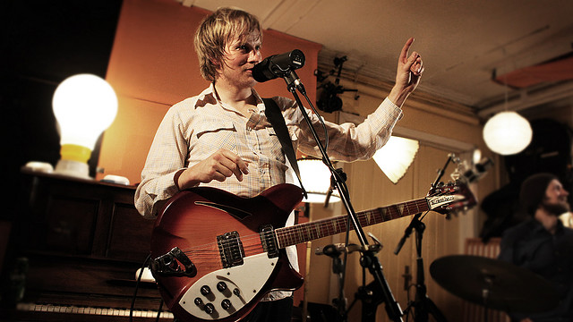 Øystein Greni (Foto: Kim Erlandsen, NRK P3)