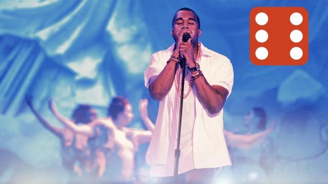 Kanye West, Øyafestivalen 2011. (Foto: Kim Erlandsen, NRK P3)