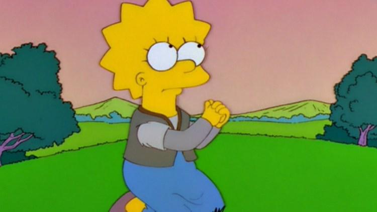 O store gule tegneserie-Gud (Foto: Skjermdump, The Simpsons)