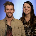 Stian Blipp og Mari Garås Monsson leder Urørtfinalen 2012 (Foto: Erlend Lånke Solbu, NRK P3)