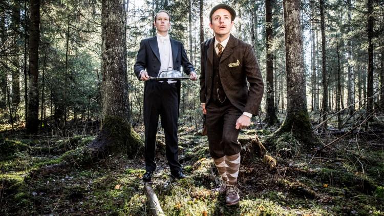 Andreas og Ludvig i Skaperverket. (Foto: Kim Erlandsen, NRK P3)