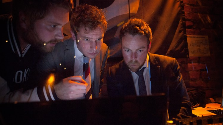 """DJ-duoen """"Snorrbjørn"""" stod for musikken etter showet. (Foto: Lars Haugdal Andersen, NRKP3)"""