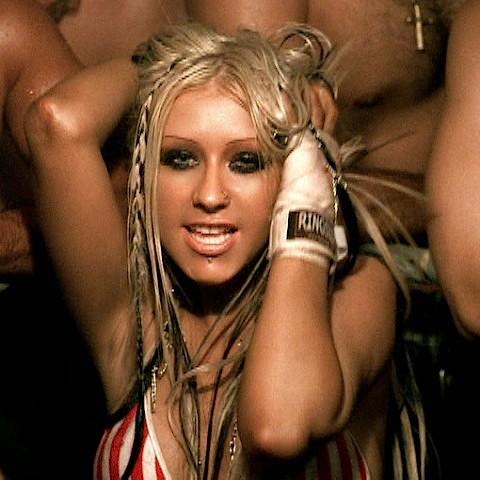 Christina Aguilera i Dirrty.