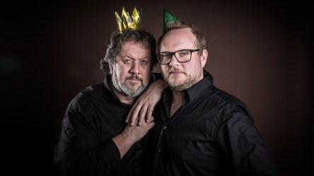 Steinar og Bjørns bærbare fredagsparty (Foto: Kim Erlandsen/NRK P3)