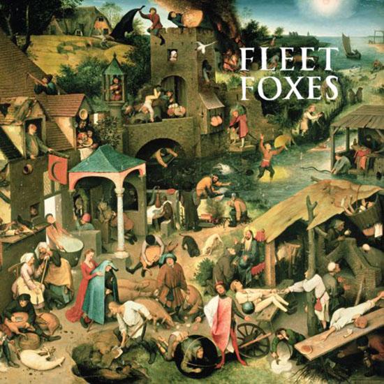 Coveret til førstealbumbet fra Fleet Foxes