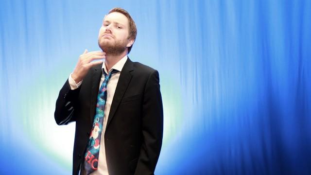 Sven Bisgaard Sundet var reporter og senere programleder for Banden (Foto: NRK)