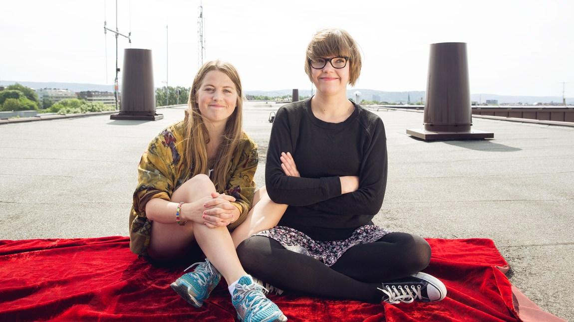 Fra 7. juli kan du høre Ramona & Siggen på P3 hver dag fra kl. 17 til 19. (Foto: Tom Øverlie, NRK P3)