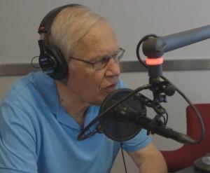 Arne Scheie gjorde comeback i radioprogrammet Ramona og Siggen.