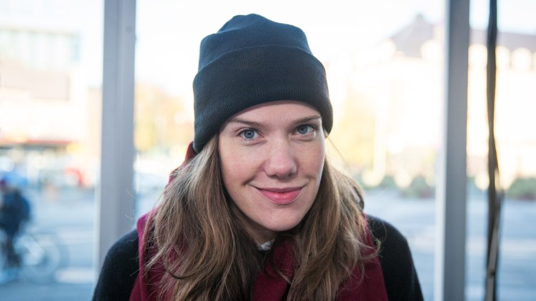Kaja Gunnufsen. Foto: Tom Øverlie, NRK P3