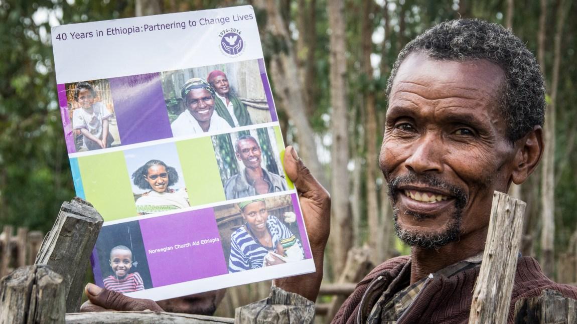 Kirkens Nødhjelp har vært til stede i Etiopia i 45 år. (Foto: Hilina Abede)
