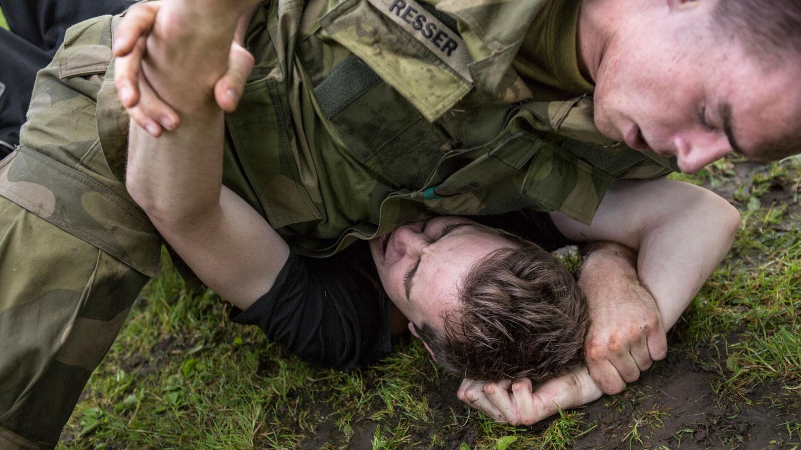 – Dritt å måtte dra tilbake til militæret