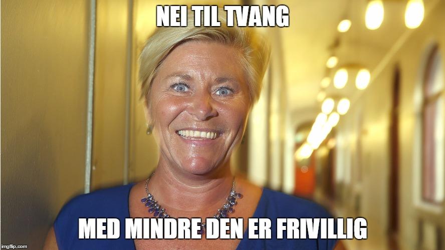 Med forbehold om forbehold. (Foto: Terje Pedersen / NTB scanpix)