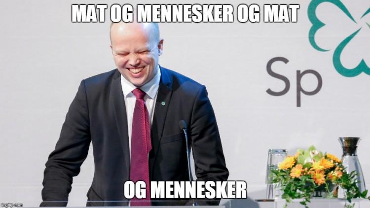 Slagsvold Vedum-meme