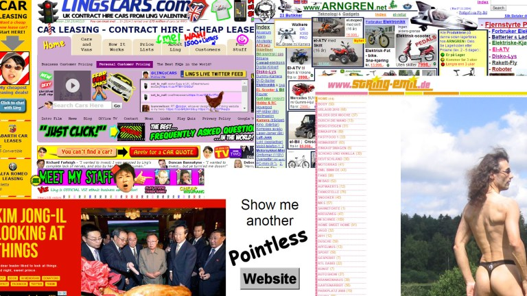 Veit du om ei rar nettside?