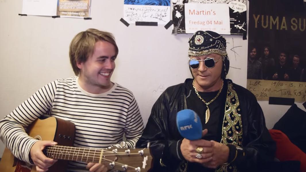 Markus møtte stjerne frå 90-talet