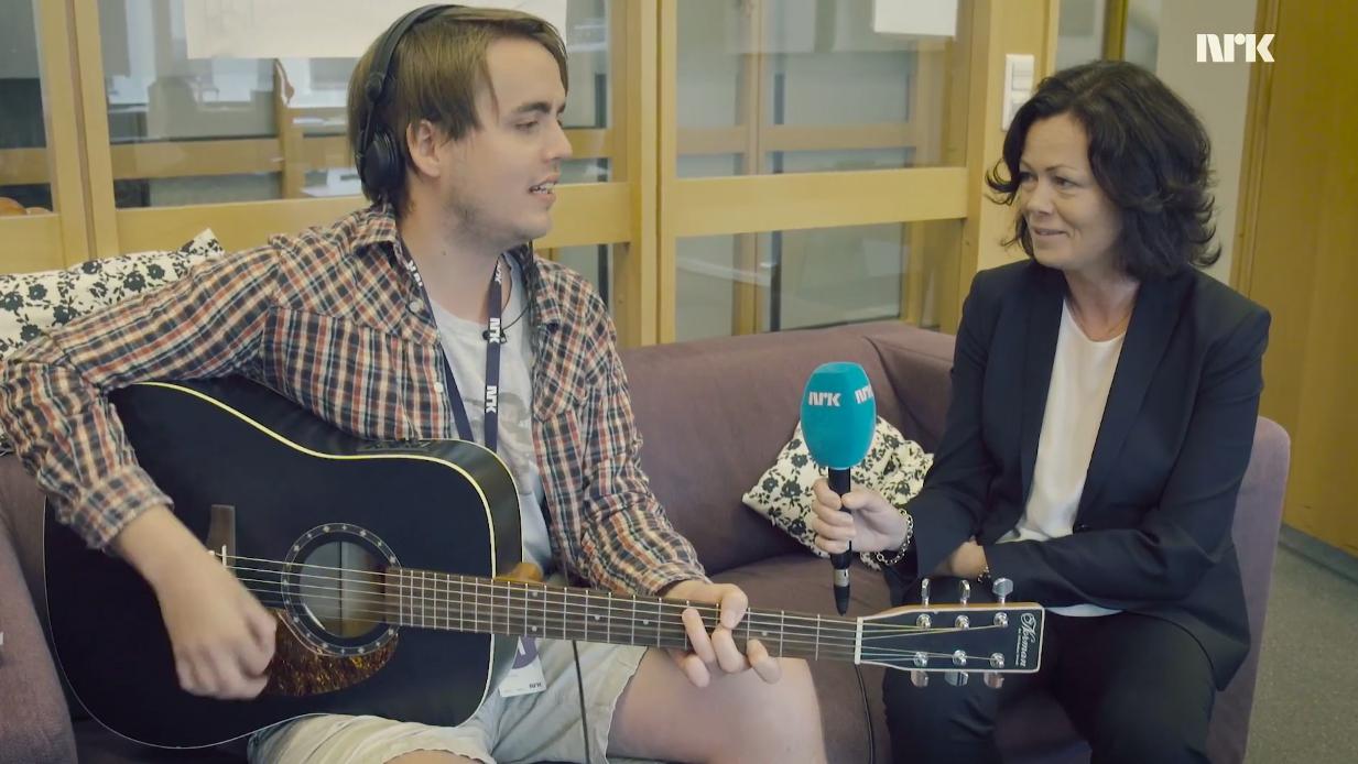 Markus songintervjuar Solveig Horne