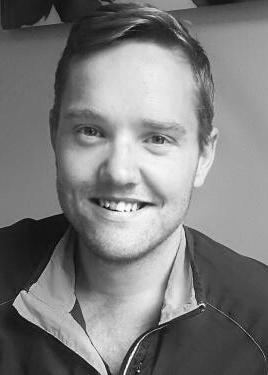 Stian Fjerdingen, sosionom og prosjektleder for UngeVoksne-nettverket underlagt Aksept hos Kirkens Bymisjon i Oslo. Foto: Privat.