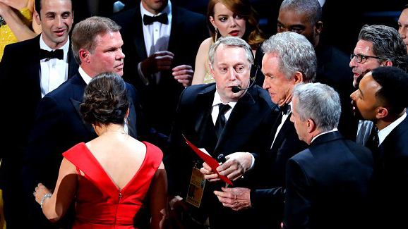 Tar på seg skylden for Oscar-tabben
