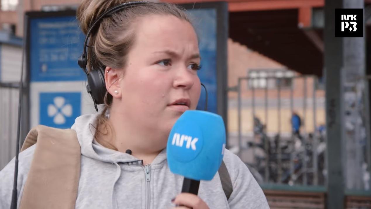 «Jente-Chris» debuterte som reporter: – Et steg opp fra «SKAM»