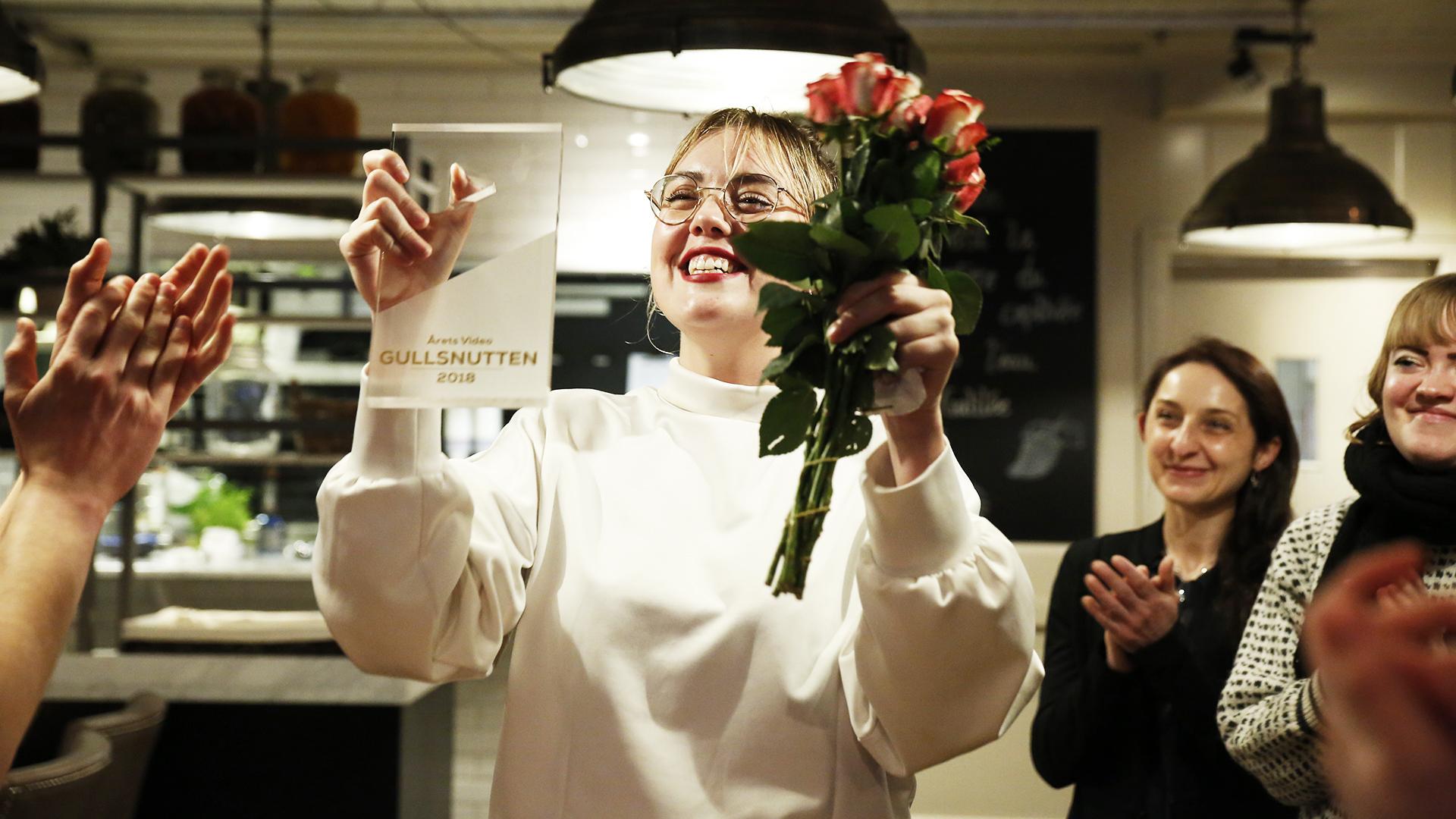 Malin Nesvoll vinner Årets video