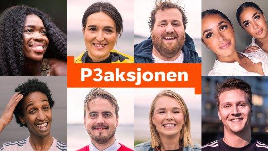 Denne gjengen leder P3aksjonen 2018