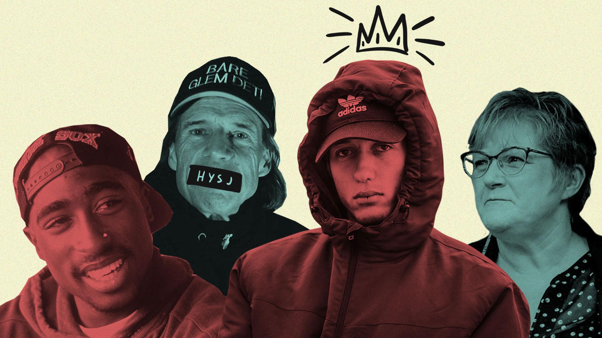 Fører gangster-rap til kriminalitet?