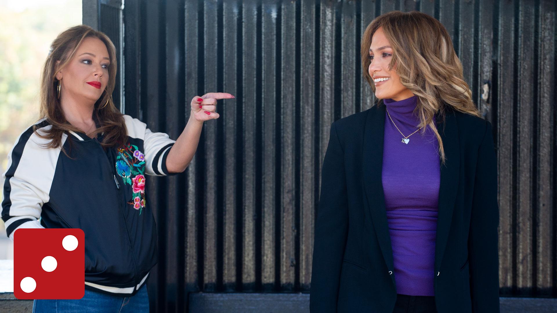 Lea Remini og Jennifer Lopez har god kjemi