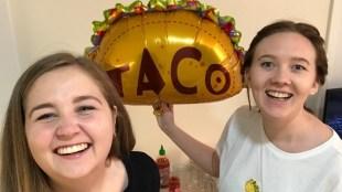 Ingrid og Anne ble enige om å spise taco hver dag i fem måneder – så kom tvilen snikende