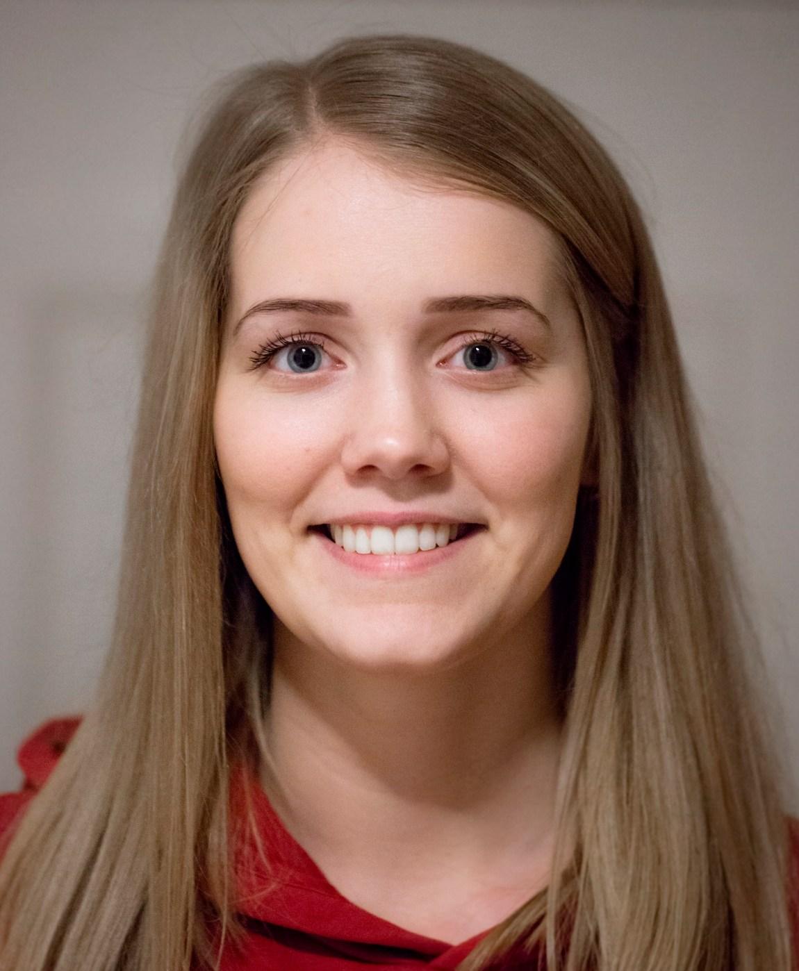 Portrett av en smilende Tonje ni måneder etter konkurransen.