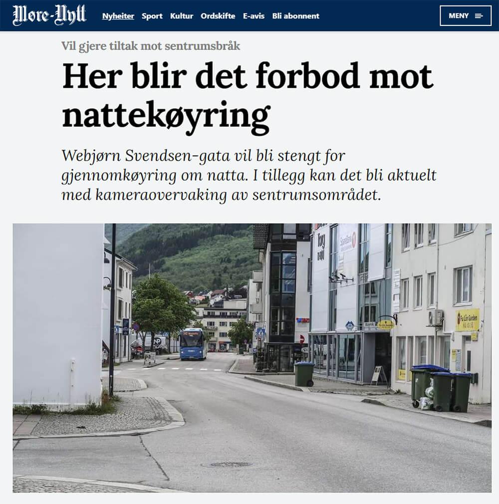 Faksimile: Møre-Nytt 11. juli 2019