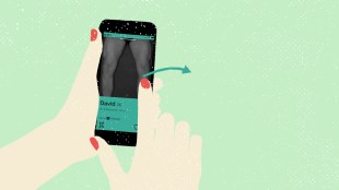 Med anonym Tinder-konto søker «David» etter kvinner som liker å bli bundet fast