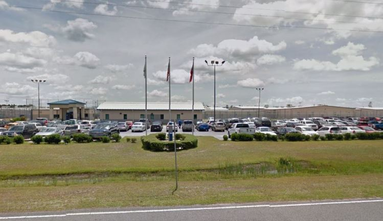 Eit skjermbilde frå Google Maps Streetview, av fengselet han sat i då P3 intervjua han.
