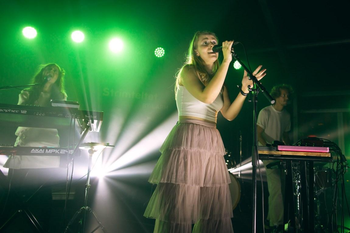 Et bilde av Mörmaid på scenen