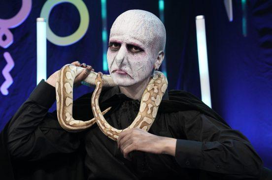 Forvandlet til Voldemort: – Skal jeg skinne meg?!