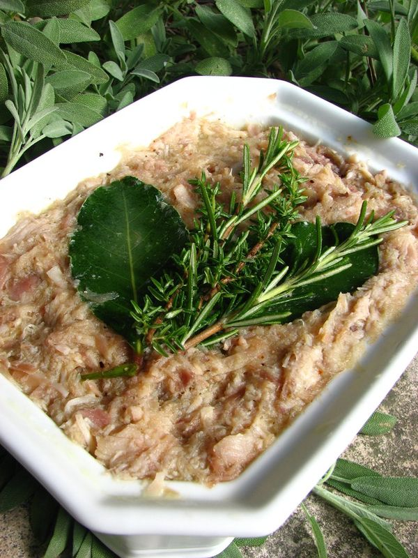 Rillette De Lapin Grand Mere : rillette, lapin, grand, Rillettes, Lapin, Lorette, Table