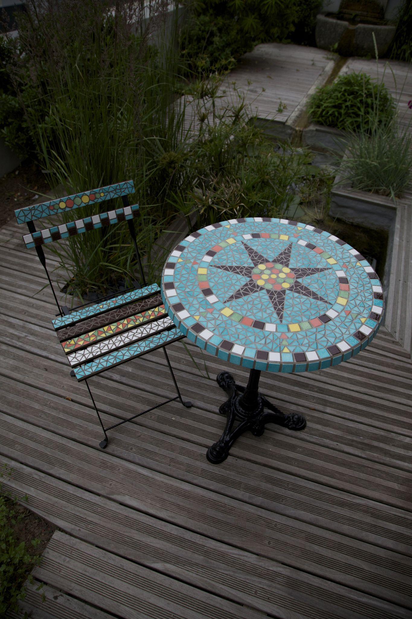 Best Construire Une Table De Jardin En Mosaique Gallery - House ...